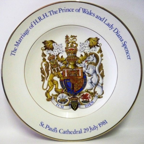 Princess-Diana-Royal-Marriage-1981-collectors-Plate-Wood-Sons-BOXED-263757465473-2